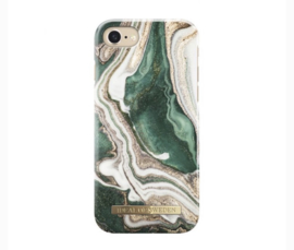 Fashion case Golden Jade marble