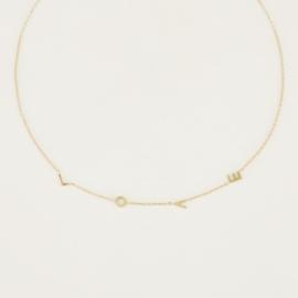 My Jewellery ketting L O V E