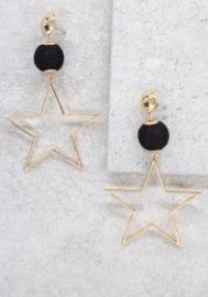 "Ettika oorbellen ""bright and star"""