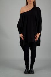 Reinders Loesje knitwear short true black (one size)