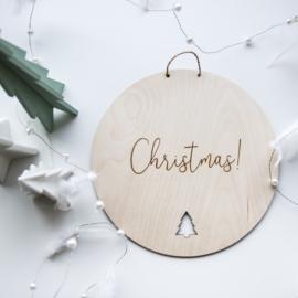 Bord 'Christmas!'