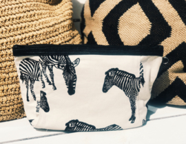 TravelPouch -Zebra Natural