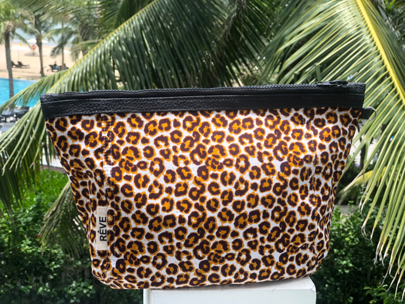 TravelPouch -Tiger Yellow