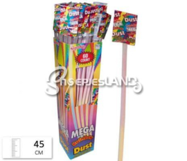 Mega rainbow dust straws