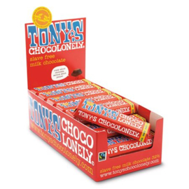 Tony's Chocolonely melk 35 x 50 gram