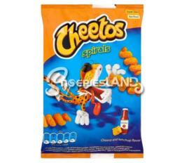 Cheetos Ketchup Spirals 80 gr. best before 06-10-2019