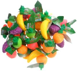 Plastic fruit 4 stuks