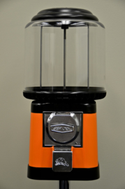 Beaver kauwgombal automaat oranje/ zwart