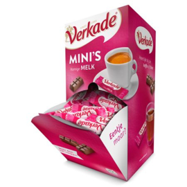 Verkade Mini's dispenserbox Melk