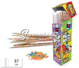 Johny Bee Paint Ball Candy Straws