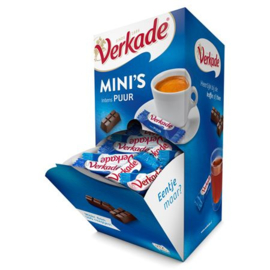 Verkade Mini's dispenserbox Intens puur