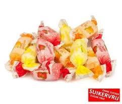 Fruit toffee suikervrij