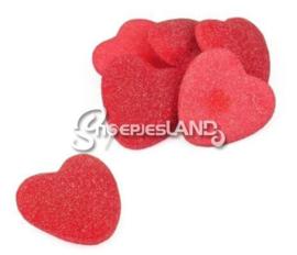 Vidal box filled Sugared Hearts