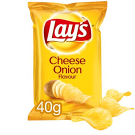 Lay's Chips Cheese & onion 20 x 40 gram