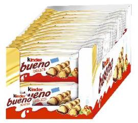 Kinder Bueno white 30 x 43 gram