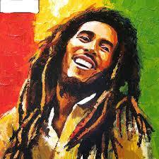Bob Marley (40x40 CM)