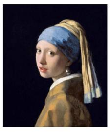 Meisje met de parel (30x40 CM)