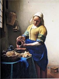 Johannes Vermeer - het melkmeisje (30x40 cm)