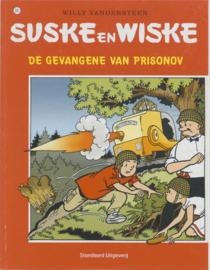 """""""Suske en Wiske 281 - De gevangene van Prisonov"""" , Willy Vandersteen Serie: Suske en Wiske"""