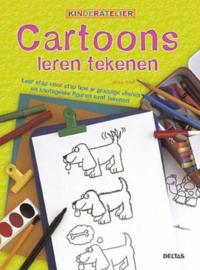 Kinderatelier Cartoons leren tekenen , Mike Artell