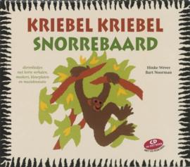 Kriebel kriebel snorrebaard dierenliedjes met korte verhalen, maskers, kleurplaten en muzieknotatie ,  Hinke Baukje Wever