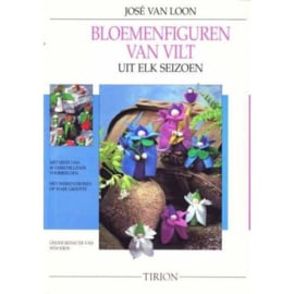 Bloemenfiguren van vilt , Jose van Loon