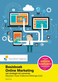 Basisboek online marketing incl. toegang tot Prepzone Van strategie tot conversie , Marjolein Visser