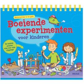 Boeiende experimenten voor kinderen de leukste proeven stap voor stap uitgelegd , Mélanie Perez