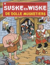 Suske en Wiske 089 de dolle musketiers Suske & Wiske , Willy Vandersteen Serie: Suske en Wiske