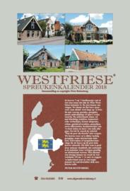 Westfriese spreukenkalender 2018 , Peter Ruitenberg