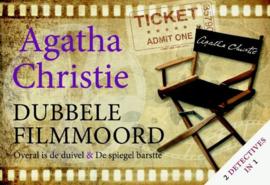 Dubbele filmmoord overal is de duivel & de spiegel barstte , Agatha Christie