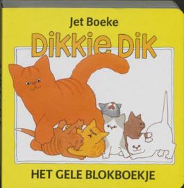 Het gele blokboekje het gele blokboekje ,  Jet Boeke Serie: Dikkie Dik