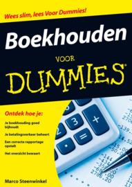 Voor Dummies - Boekhouden voor Dummies Krijg Voor Eens En Altijd Je Administratie Op Orde , Marco Steenwinkel  Serie: Voor Dummies