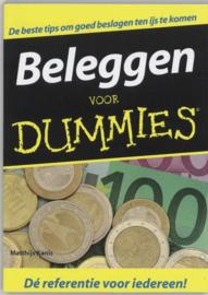 Voor Dummies - Beleggen voor Dummies , Matthijs Kanis Serie: Voor Dummies