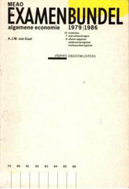 1979-1986 Meao examenbundel alg. economie , A.J.M. van Gaal