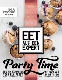 Eet als een expert - Party Time Healthy partyfood voor elk feest! 50 gezonde party recepten door diëtisten , Marijke Berkenpas