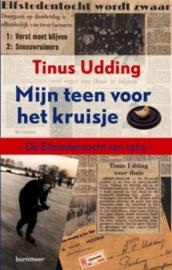 Mijn teen voor het kruisje de Elfstedentocht van 1963 , Tinus Udding