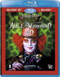 Alice In Wonderland (3D Blu-ray) (Blu-ray is niet afspeelbaar in normale DVD-spelers!)