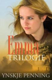 Emma trilogie bevat: De Fokkema Heerd, Lutje Boudel, Huize De Goede Hoop , Ynskje Penning