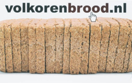 Volkorenbrood.Nl / Druk Nd Het Eerste Nederlandse Volkoren Bakbook Door Fred Tiggelman , N. Willemse
