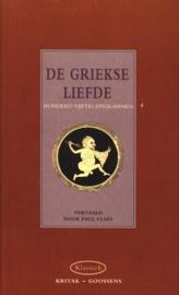 De Griekse liefde honderdvijftig epigrammen , Elmar Serie: Kritak klassiek
