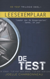 De test Deel 1 van de Test trilogie , Joelle Charbonneau