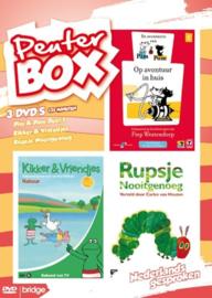 Peuter Box - 3 DVD's - Pim & Pom - Kikker & Vriendjes - Rupsje Nooitgenoeg