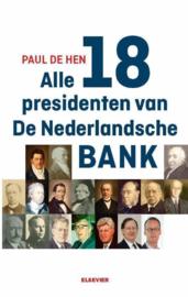 Alle 19 presidenten van De Nederlandsche Bank , Paul de Hen