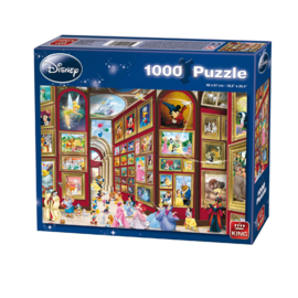 King Puzzel 5071 Disney puzzel Museum - 1000 stukjes