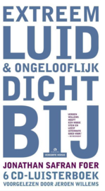 Extreem luid & ongelooflijk dichtbij, 6 CD'S 6 CD luisterboek verkorte versie voorgelezen door Jeroen Willems , onathan Safran Foer