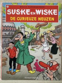 """""""Suske en Wiske 296 - De curieuze neuzen"""" Suske & Wiske , Willy Vandersteen Serie: Suske en Wiske"""