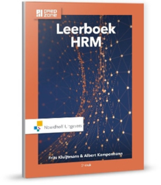 Leerboek HRM incl. toegang tot Prepzone , Frits Kluijtmans