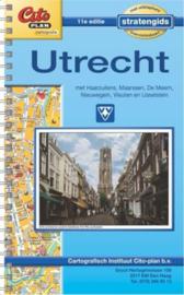 Citoplan stratengids Utrecht met Haarzuilens, Maarssen, De Meern, Nieuwegein, Vleuten en IJsselstein Serie: Citoplan