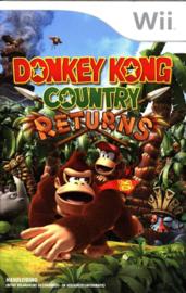 Donkey Kong Country Returns (WII BOEKJE)